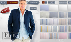 Custom Made Dress Shirts online