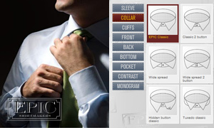 Epic Shirtmakers Offers Unique Custom Dress Shirt Service